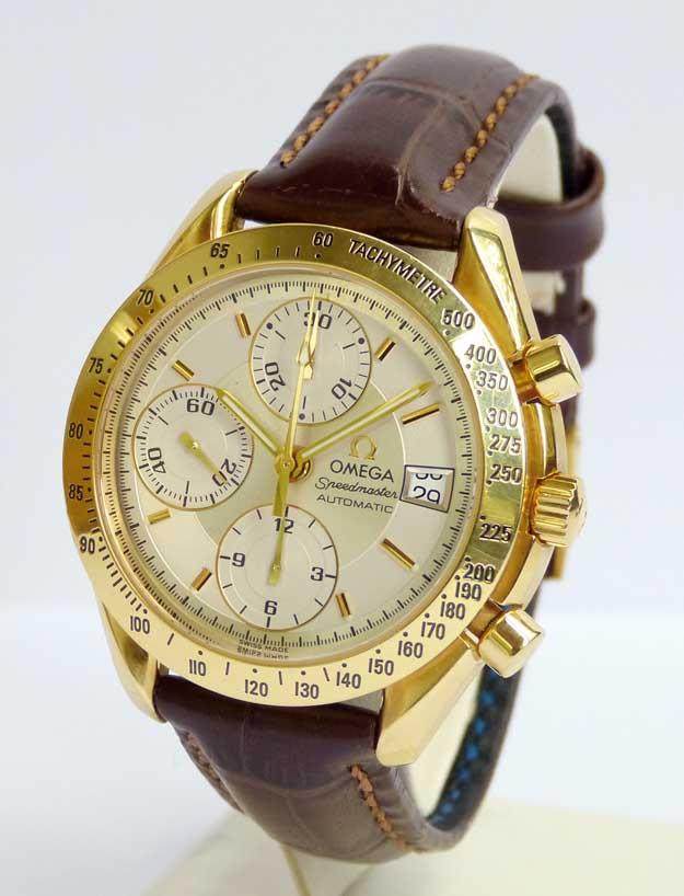 Fabuleux Swiss Chronographe Montre Homme Omega Speedmaster, la boîte  LA56